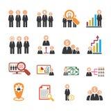 ανθρώπινα μεγάλα στοιχεία συμπεριφοράς ανθρώπων ομάδας επιχειρησιακών επιχειρηματιών Στοκ εικόνα με δικαίωμα ελεύθερης χρήσης