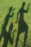 ανθρώπινες σκιαγραφίες Στοκ εικόνα με δικαίωμα ελεύθερης χρήσης