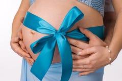 ανθρώπινη εγκυμοσύνη Στοκ Εικόνες