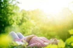 ανθρώπινη εγκυμοσύνη Στοκ φωτογραφία με δικαίωμα ελεύθερης χρήσης