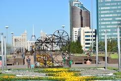 Ανθρώπινη ενέργεια φεστιβάλ 2016 τέχνης Astana για EXPO 2017 σε Astana Στοκ εικόνα με δικαίωμα ελεύθερης χρήσης