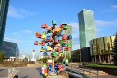 Ανθρώπινη ενέργεια φεστιβάλ 2016 τέχνης Astana για EXPO 2017 σε Astana Στοκ φωτογραφία με δικαίωμα ελεύθερης χρήσης