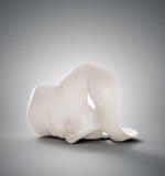 Ανθρώπινη μάσκα Στοκ φωτογραφία με δικαίωμα ελεύθερης χρήσης