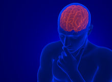 Ανθρώπινος εγκέφαλος στην ακτίνα X Περιέχει το μονοπάτι ψαλιδίσματος διανυσματική απεικόνιση