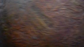 Ανθρώπινος περιστρεφόμενος πλανήτης Άρης χεριών ` s φιλμ μικρού μήκους