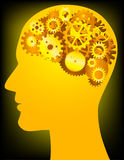 ανθρώπινο μυαλό Στοκ εικόνες με δικαίωμα ελεύθερης χρήσης
