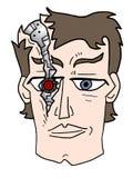 ανθρώπινο ρομπότ Στοκ Εικόνα