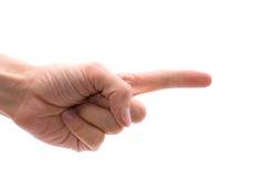 Ανθρώπινο χέρι Στοκ φωτογραφίες με δικαίωμα ελεύθερης χρήσης