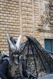 Ανθρώπινο gargoyle Στοκ Εικόνες
