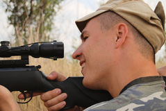 ανοίγοντας εποχή κυνηγι& Στοκ εικόνα με δικαίωμα ελεύθερης χρήσης