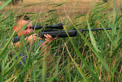 ανοίγοντας εποχή κυνηγι& Στοκ φωτογραφία με δικαίωμα ελεύθερης χρήσης