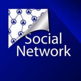 Κοινωνικό δίκτυο Στοκ Εικόνα