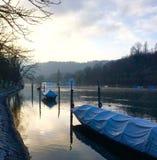 Ανοησία πρωινού ή ποταμός του Ρήνου Στοκ φωτογραφίες με δικαίωμα ελεύθερης χρήσης