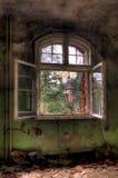 ανοιγμένο παράθυρο Στοκ εικόνα με δικαίωμα ελεύθερης χρήσης