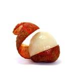 ανοιγμένο lychee στοκ φωτογραφία με δικαίωμα ελεύθερης χρήσης
