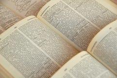 Ανοικτά βιβλία Στοκ Εικόνες