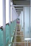 Ανοικτά μπαλκόνια σε ένα κρουαζιερόπλοιο Στοκ εικόνα με δικαίωμα ελεύθερης χρήσης