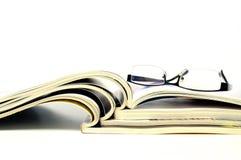 Ανοικτά περιοδικά στοκ εικόνα