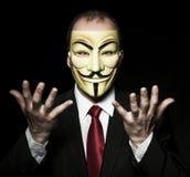 Ανοικτά χέρια χάκερ Στοκ Εικόνα