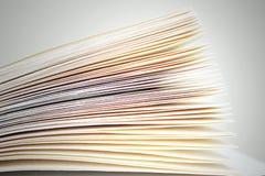 ανοικτές σελίδες βιβλίων Στοκ Φωτογραφία
