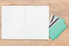 ανοικτή έννοια χρηματοδότησης βιβλίων Στοκ φωτογραφία με δικαίωμα ελεύθερης χρήσης