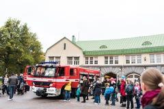 Ανοικτή ημέρα στις υπηρεσίες διάσωσης Pirkanmaa στοκ φωτογραφία με δικαίωμα ελεύθερης χρήσης