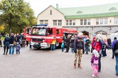 Ανοικτή ημέρα στις υπηρεσίες διάσωσης Pirkanmaa στοκ εικόνα με δικαίωμα ελεύθερης χρήσης