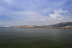 Ανοικτή θάλασσα των εγκαταστάσεων παραγωγής ενέργειας, πόλη zhangzhou Στοκ εικόνες με δικαίωμα ελεύθερης χρήσης