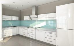 Ανοικτή κουζίνα Στοκ Εικόνες