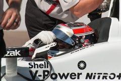 Ανοικτή δοκιμή ραλιών ροδών αυτοκινήτων Indy Στοκ Φωτογραφίες