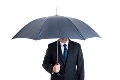 ανοικτή ομπρέλα προστασί&alpha Στοκ Εικόνες