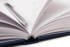 ανοικτή πέννα ημερολογίων Στοκ Εικόνα