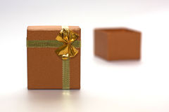 ανοικτή συσκευασία δώρ&omega Στοκ Φωτογραφία