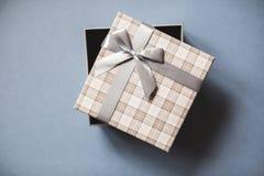 Ανοικτή τοπ άποψη κιβωτίων δώρων Στοκ εικόνες με δικαίωμα ελεύθερης χρήσης