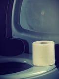 ανοικτή τουαλέτα κύπελλ& στοκ εικόνα με δικαίωμα ελεύθερης χρήσης