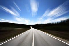 ανοικτός δρόμος Στοκ εικόνα με δικαίωμα ελεύθερης χρήσης