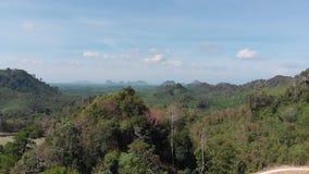 Ανοικτός κόσμος 360 βαθμός με τη φύση φυσική σε Trang Ταϊλάνδη απόθεμα βίντεο