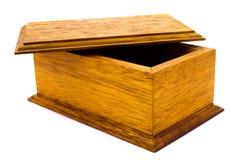 ανοικτός ξύλινος κιβωτίω&n Στοκ φωτογραφία με δικαίωμα ελεύθερης χρήσης