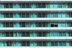 Ανοικτός πράσινος τοίχος γυαλιού παραθύρων Στοκ Εικόνες