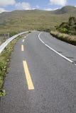 Ανοικτός δρόμος παράλληλα με τη λίμνη φιορδ Killary λιμνών  Leenane, Connemara Στοκ φωτογραφία με δικαίωμα ελεύθερης χρήσης