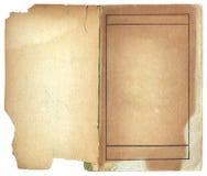 ανοικτός τρύγος βιβλίων Στοκ φωτογραφίες με δικαίωμα ελεύθερης χρήσης