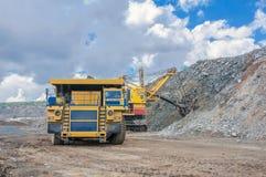 Ανοικτός - χυτό ορυχείο Στοκ Εικόνες