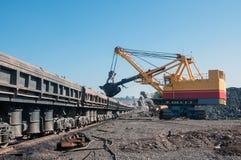 Ανοικτός - χυτό ορυχείο Στοκ Φωτογραφία
