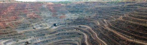 Ανοικτός - χυτό ορυχείο Στοκ εικόνες με δικαίωμα ελεύθερης χρήσης