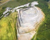 Ανοικτός - χυτό ορυχείο Στοκ φωτογραφία με δικαίωμα ελεύθερης χρήσης