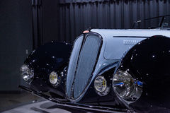1938 ανοικτό αυτοκίνητο ανταγωνισμού τύπων Delahaye 135M Στοκ φωτογραφία με δικαίωμα ελεύθερης χρήσης