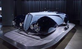 1938 ανοικτό αυτοκίνητο ανταγωνισμού τύπων Delahaye 135M Στοκ φωτογραφίες με δικαίωμα ελεύθερης χρήσης