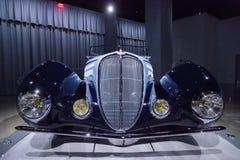 1938 ανοικτό αυτοκίνητο ανταγωνισμού τύπων Delahaye 135M Στοκ εικόνες με δικαίωμα ελεύθερης χρήσης