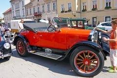Ανοικτό αυτοκίνητο τεχνάσματος, κλασικό αυτοκίνητο Στοκ φωτογραφίες με δικαίωμα ελεύθερης χρήσης