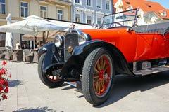 Ανοικτό αυτοκίνητο τεχνάσματος, κλασικό αυτοκίνητο Στοκ εικόνα με δικαίωμα ελεύθερης χρήσης